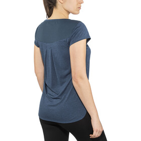 The North Face Inlux S/S Top Dame blue wing teal dark heather
